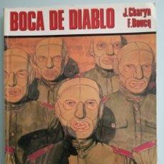 Cómics: BOCA DE DIABLO - CHARYN Y BOUCQ - COMPLETO - NORMA. Lote 224700931