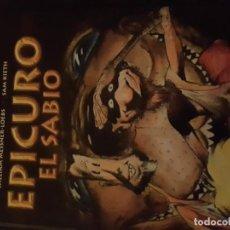 Fumetti: EPICURO EL SABIO. Lote 224933262