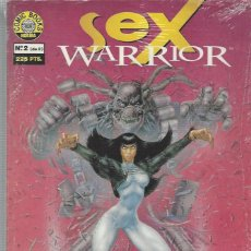 Comics : SEX WARRIOR - 2 NºS - SERIE COMPLETA - MUY BUEN ESTADO. Lote 225517015
