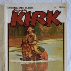 Cómics: SARGENTO KIRK, LOS MEJORES COMICS DEL OESTE Nº 1 - NORMA. Lote 225966245