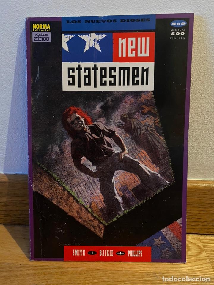 LOS NUEVOS DIOSES NEW STATESMEN NÚMERO 5 (Tebeos y Comics - Norma - Otros)