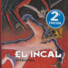 Cómics: MOEBIUS. EL INCAL INTEGRAL. 310 PAGINAS. TAPA DURA . COLOR ORIGINAL. NORMA EDIT. GUION DE JODOROWSKY. Lote 226345140
