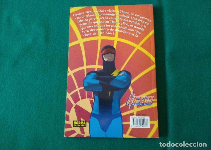 Cómics: NEXUS JUSTICIA ALIEN - MIKE BARON & STEVE RUDE - NORMA EDITORIAL - AÑO 1996 - Foto 3 - 226399243