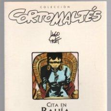 Comics: CITA EN BAHIA. HUGO PRATT. COLECCION CORTO MALTES Nº 2. NORMA 1999, 1ª EDICION. Lote 226455486