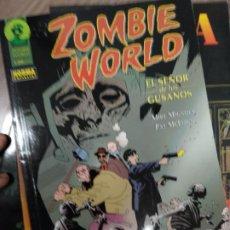 Cómics: ZOMBIE WORLD EL SEÑOR DE LOS GUSANOS MIKE MIGNOLA PAT MCEOWN. Lote 226480259