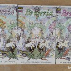 Cómics: BRUJERÍA - NORMA EDITORIAL / SERIE COMPLETA DE 3 NÚMEROS (COLECCIÓN VÉRTIGO). Lote 226573740