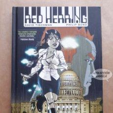 Cómics: RED HERRING - DAVID TISCHMAN Y PHILIP BOND - NORMA - CARTONÉ. Lote 226602310