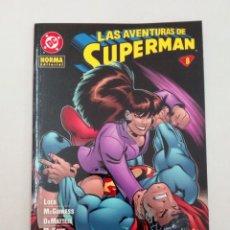 Cómics: LAS AVENTURAS DE SUPERMAN Nº 8. LOEB, MCGUINNESS, DEMATTEIS, MCKONE, RAIMONDI.... Lote 226613540