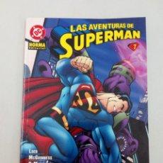 Cómics: LAS AVENTURAS DE SUPERMAN Nº 7. LOEB, MCGUINNESS, DEMATTEIS, RAIMONDI, KANO, KELLY.... Lote 226614005