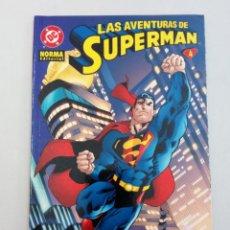 Cómics: LAS AVENTURAS DE SUPERMAN Nº 4. KELLY, GUICE, LOEB, MCGUINNESS. Lote 226615440
