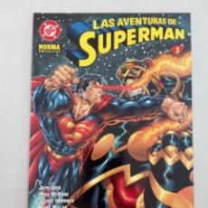 Cómics: LAS AVENTURAS DE SUPERMAN Nº 3. LOEB, MCKONE, MILLAR, IMMONEN, KANO, PAQUETTE.... Lote 226615830