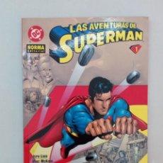 Cómics: LAS AVENTURAS DE SUPERMAN Nº 1. LOEB, MCKONE, IMMONEN, MILLAR, EPTING, GARCÍA, KELLY.... Lote 226616475
