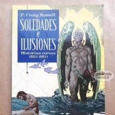 Cómics: SOLEDADES E ILUSIONES - HISTORIAS CORTAS - P. CRAIG RUSSELL - NORMA. Lote 226617185