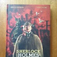 Cómics: SHERLOCK HOLMES Y LA CONSPIRACION DE BARCELONA, SERGIO COLOMINO, JORDI PALOME, NORMA EDITORIAL, 2012. Lote 227619200