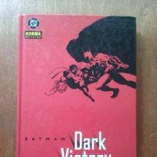 Cómics: BATMAN DARK VICTORY, JEPH LOEB, TIM SALE, NORMA EDITORIAL, 2003. Lote 227619760