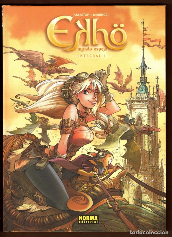 EKHO MUNDO ESPEJO 1 - NORMA / EDICION INTEGRAL / TAPA DURA (Tebeos y Comics - Norma - Comic Europeo)