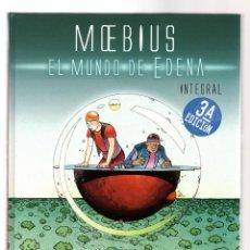 Cómics: EL MUNDO DE EDENA - NORMA / EDICION INTEGRAL / TAPA DURA / MOEBIUS. Lote 227949405
