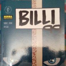 Cómics: BILLI 99: TIM SALE: NORMA EDITORIAL. Lote 228222682