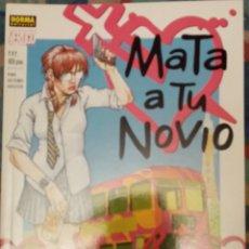 Cómics: MATA A TU NOVIO: GRANT MORRISON: VERTIGO: NORMA EDITORIAL. Lote 228222710