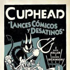 Cómics: CUPHEAD 1 : LANCES CÓSMICOS Y DESATINOS - NORMA / DARK HORSE / RUSTICA. Lote 228363057