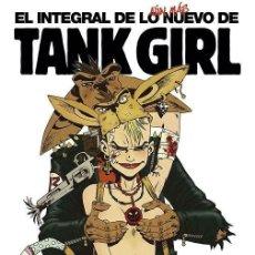 Cómics: EL INTEGRAL DE LO ÁUN MÁS NUEVO DE TANK GIRL - NORMA / TAPA DURA. Lote 228364945