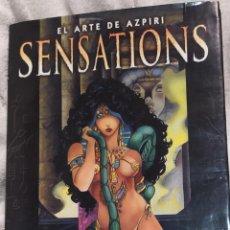 Cómics: SENSATIONS, EL ARTE DE AZPIRI. Lote 228443075