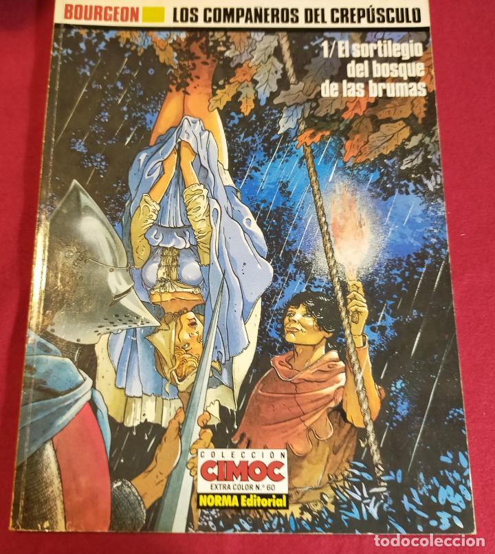 BOURGEON. LOS COMPAÑEROS DEL CREPÚSCULO. 1 (Tebeos y Comics - Norma - Comic Europeo)
