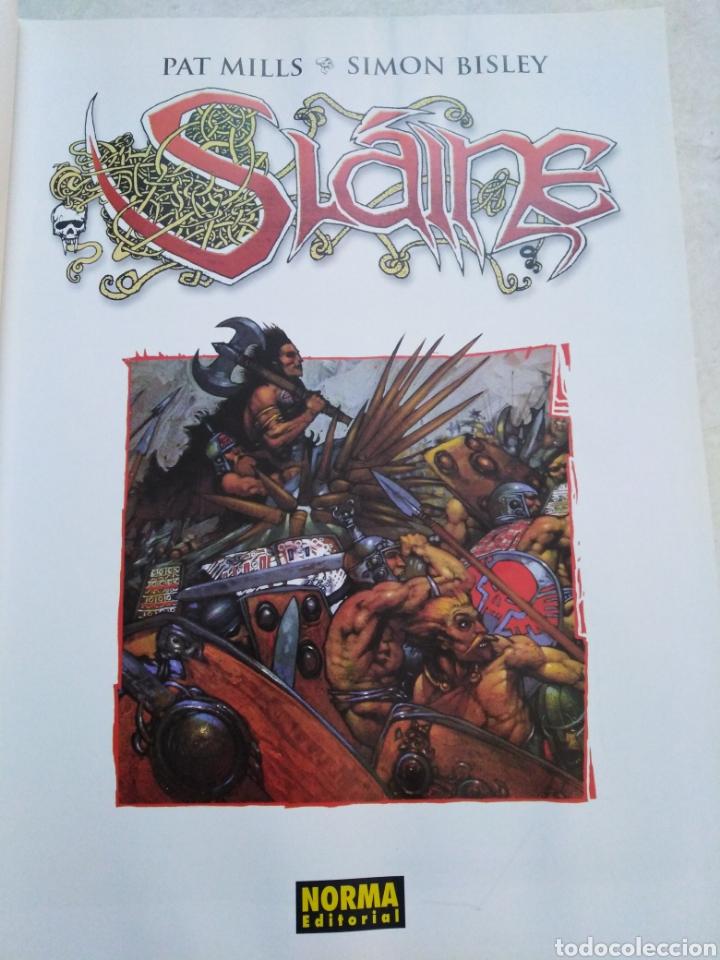 Cómics: Slaine, Pat Mills-Simon Bisley ( norma editorial ) - Foto 4 - 228633755