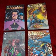 Cómics: BATMAN CAZADORA, INFECTADO, CUATRO DE UNA ESPECIE, BATMAN Y EL CAPITÁN AMÉRICA COMIC DC/JOKER/HEROE. Lote 229246125