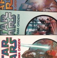 Cómics: STAR WARS - LA ULTIMA ORDEN - Nº 1 - 2 - Y 3 COLECCION COMPLETA - AÑO 2000 - NORMA EDITORIAL -. Lote 229256370