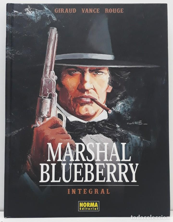 MARSHAL BLUEBERRY, INTEGRAL, GIRAUD - VANCE- ROUGE (NORMA EDITORIAL) (Tebeos y Comics - Norma - Comic Europeo)