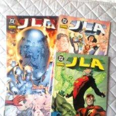 Comics : JLA DIVIDE Y VENCERÁS COMPLETA DEL 1 AL 4 NORMA. Lote 229869255
