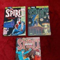 Cómics: SUPER THE SPIRIT RETAPADOS 1,2 Y 3 CON LOS NUMEROS DEL 1 AL 17 NORMA EDITORIAL. Lote 230105080
