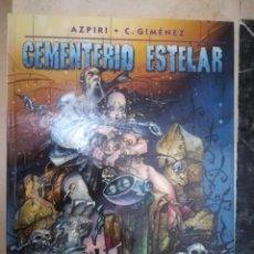 Cómics: CEMENTERIO ESTELAR. AZPIRI/C. GIMÉNEZ. NORMA EDITORIAL. Lote 230298400