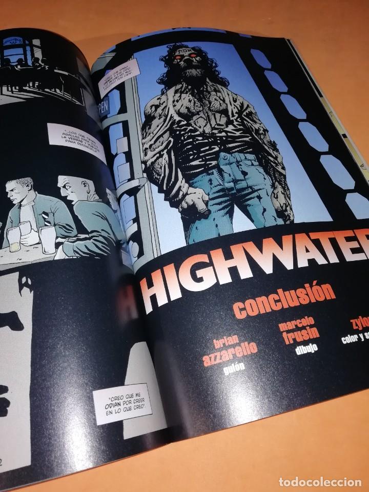 Cómics: HELLBLAZER. HIGHWATER. AZZARELLO, & FRUSIN . VERTIGO . NORMA. - Foto 7 - 230573405