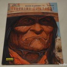 Cómics: BLUEBERRY Nº 38. GERÓNIMO EL APACHE. PERFECTO ESTADO. NORMA EDITORIAL.. Lote 230877175