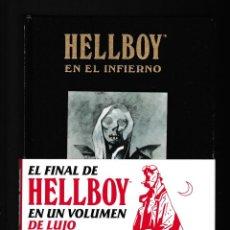 Cómics: HELLBOY 4 : EN EL INFIERNO - NORMA / DARK HORSE EDICIÓN INTEGRAL / MIKE MIGNOLA / NUEVO Y PRECINTADO. Lote 257515390