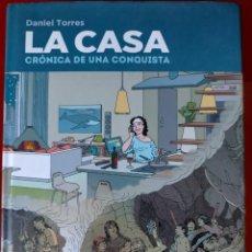 Cómics: LA CASA : CRONICA DE UNA CONQUISTA - NORMA / COMIC EUROPEO -- ¡¡¡EXCELENTE COMIC, QUE HACE PENSAR!!!. Lote 232144815