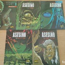 Cómics: ASESINO (COMPLETA), DE NORMA EDITORIAL (ALEXIS MATZ & LUC JACAMON). Lote 232211790