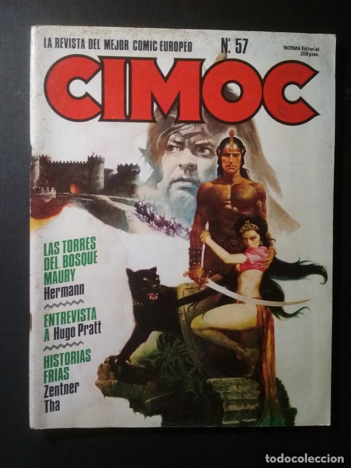 CIMOC N57 (Tebeos y Comics - Norma - Cimoc)