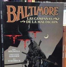 Cómics: BALTIMORE 2: LAS CAMPANAS DE LA MALDICIÓN, DE CHRISTOPHER GOLDEN, MIKE MIGNOLA, BEN STENBECK. Lote 232322835