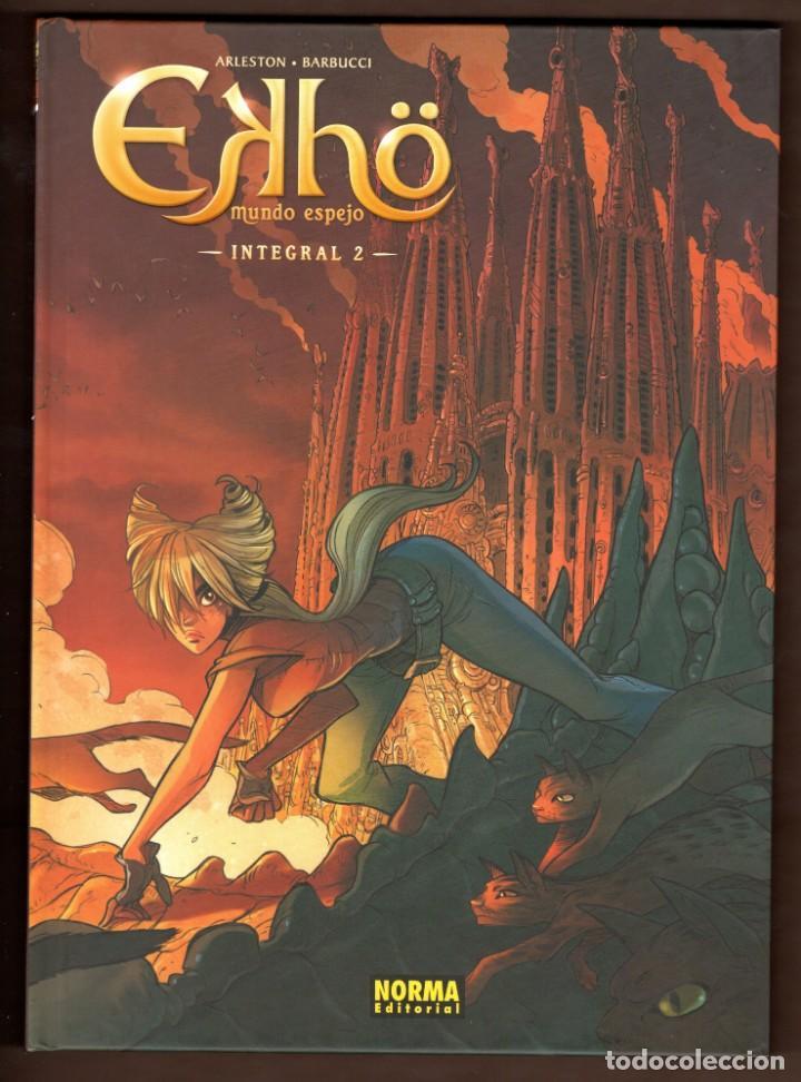 EKHO MUNDO ESPEJO 2 - NORMA / EDICIÓN INTEGRAL / COMIC EUROPEO / TAPA DURA (Tebeos y Comics - Norma - Comic Europeo)