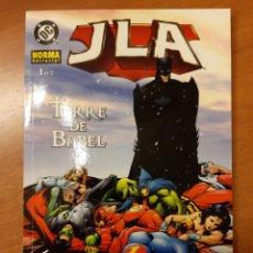 Cómics: JLA TORRE DE BABEL 1 Y 2 COMPLETA MARK WAID HOWARD PORTER STEVE SCOTT. Lote 232780570