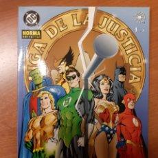 Cómics: JLA LIGA DE LA JUSTICIA EL CLAVO 1 AL 3 COMPLETA ALAN DAVIS MARK FARMER. Lote 232798635