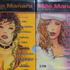 Comics: COLECCIÓN MILO MANARA - 2 COFRES - 34 NUMEROS - COMPLETA - MILO MANARA. Lote 233105120