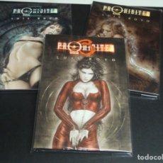 Cómics: PROHIBITED BOOK LUIS ROYO 3 TOMOS DEL 1 AL 3 MUY BUEN ESTADO. Lote 233789415