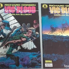 Fumetti: X VIC & BLOOD Nº 1 Y 2, DE CORBEN (NORMA). Lote 233837675