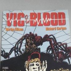 Fumetti: X VIC & BLOOD Nº 1 Y 2, DE CORBEN CIMOC EXTRA COLOR Nº 72 (NORMA). Lote 233838045