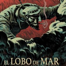 Cómics: EL LOBO DE MAR DE JACK LONDON RIFF REB´S. SPACEMAN BOOKS. TAPA DURA. 128 PAGINAS. Lote 262957985