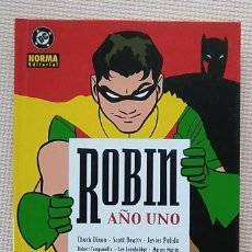 Cómics: ROBIN AÑO UNO CHUCK DIXON JAVIER PULIDO BATMAN NORMA EDITORIAL TAPA DURA. Lote 233980260